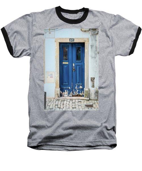 Door No 67 Baseball T-Shirt by Marco Oliveira