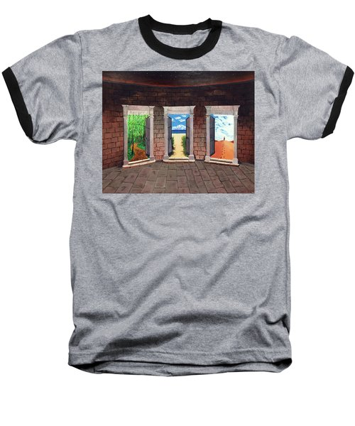 Door Number Three Baseball T-Shirt