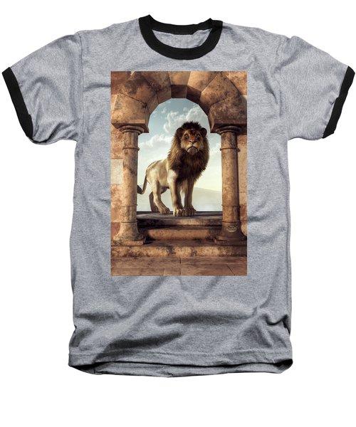 Door To The Lion's Kingdom Baseball T-Shirt