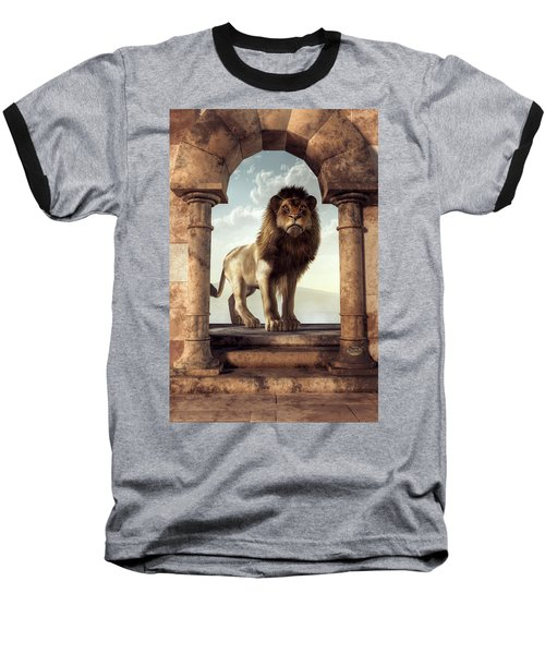 Door To The Lion's Kingdom Baseball T-Shirt
