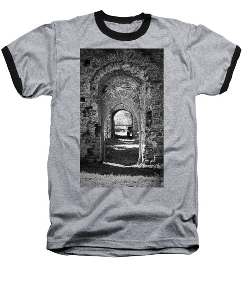 Doors At Ballybeg Priory In Buttevant Ireland Baseball T-Shirt