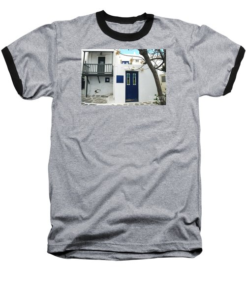 Baseball T-Shirt featuring the photograph Doors by Haleh Mahbod