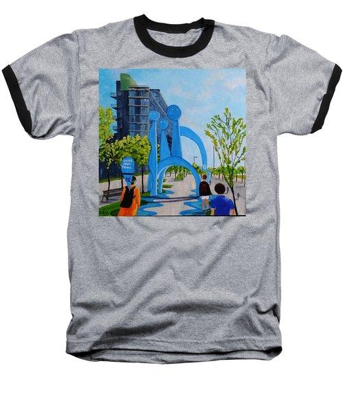 Doors Open Toronto, Doors Open Canada Baseball T-Shirt by Diane Arlitt