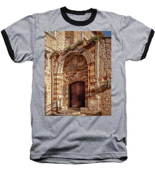 Doorway In Akko Baseball T-Shirt