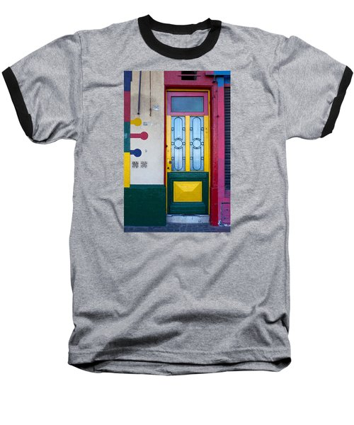 Doors Of San Telmo, Argentina Baseball T-Shirt