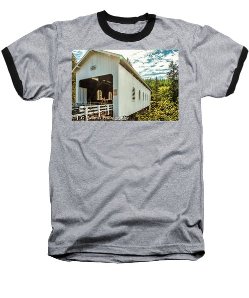 Dorena Covered Bridge Baseball T-Shirt