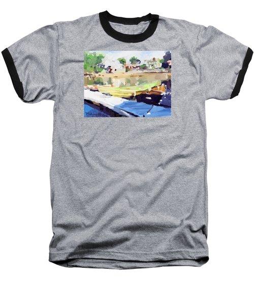 Dories At Beacon Marine Basin Baseball T-Shirt