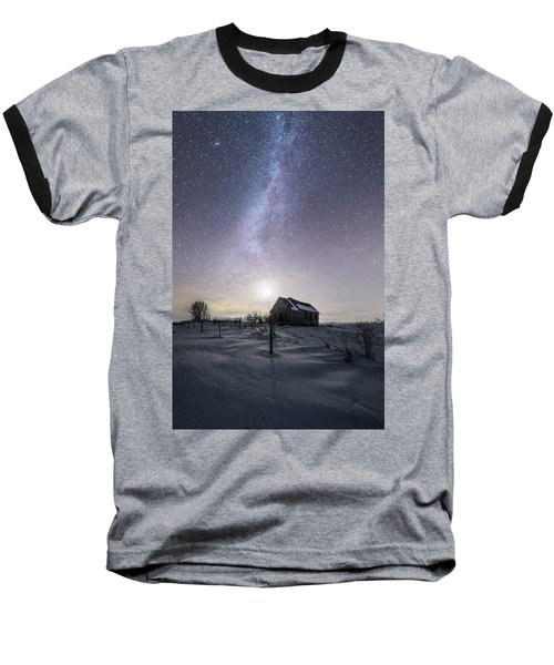 Baseball T-Shirt featuring the photograph Dormant by Aaron J Groen