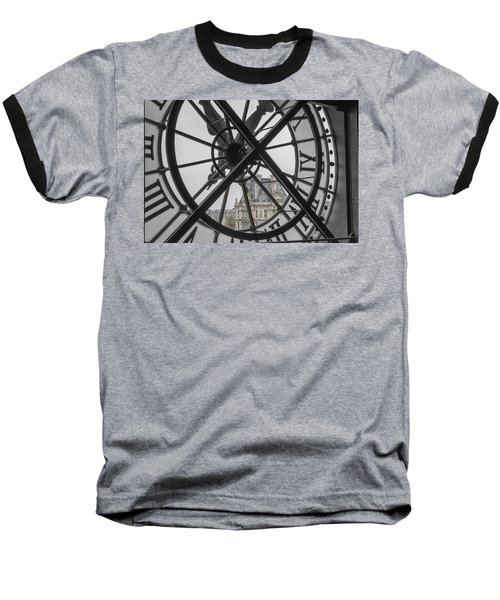 D'orsay Clock Paris Baseball T-Shirt