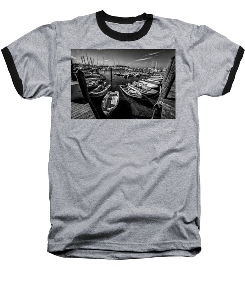 Dory Dock Baseball T-Shirt by Kevin Cable