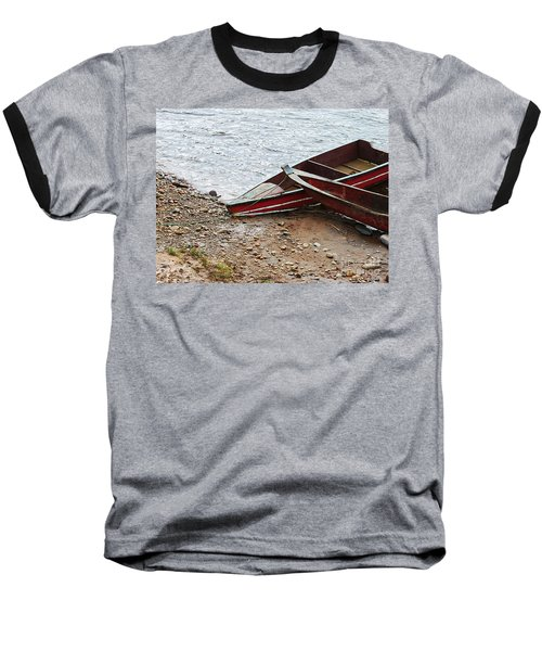Dos Barcos Baseball T-Shirt by Kathy McClure