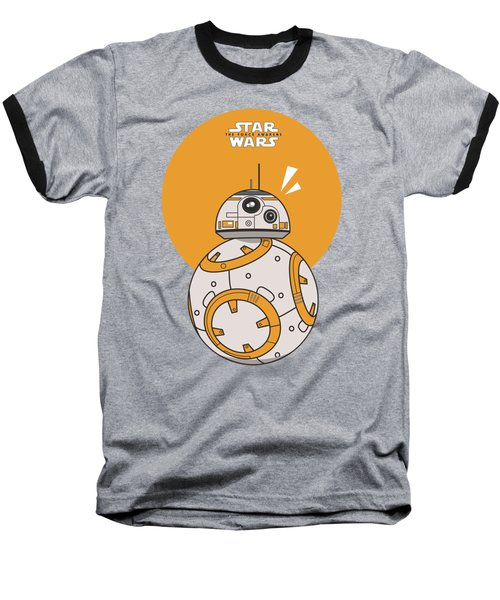 Dotted Starwars Baseball T-Shirt by Mentari Surya