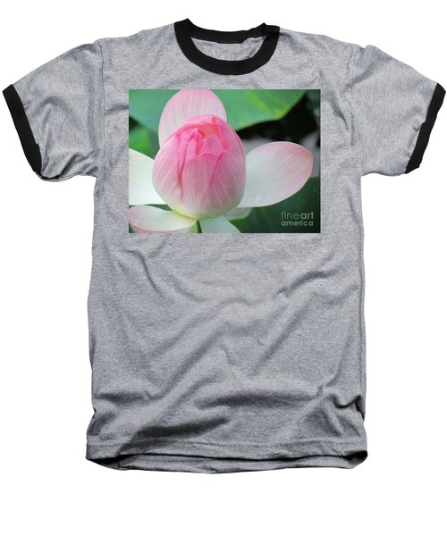 Dotus On The Lotus  Baseball T-Shirt