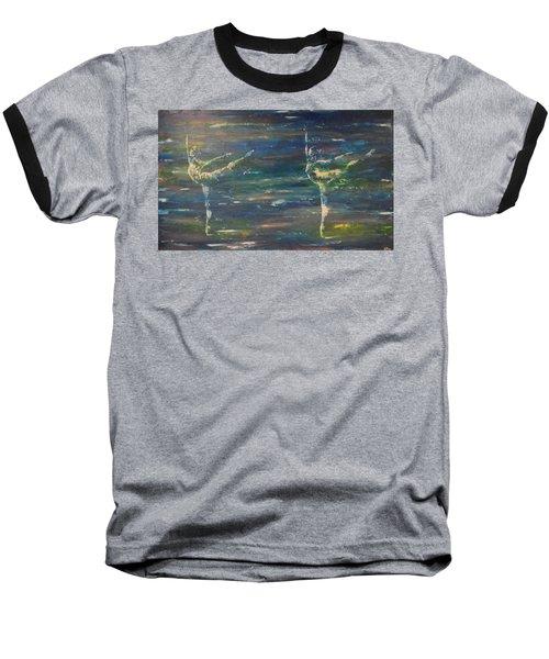 Double Arabesque Baseball T-Shirt
