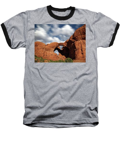 Double Arch In The Moonlight Baseball T-Shirt