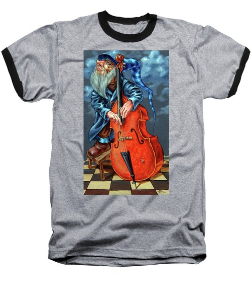 Double Bass And Bench Baseball T-Shirt