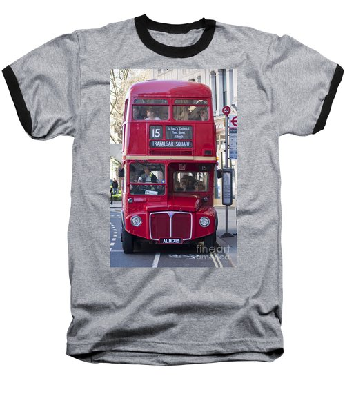 Double Decker  Baseball T-Shirt