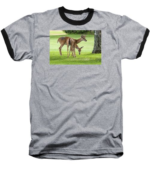 Double Deer Baseball T-Shirt