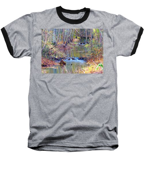 Double Falls Baseball T-Shirt