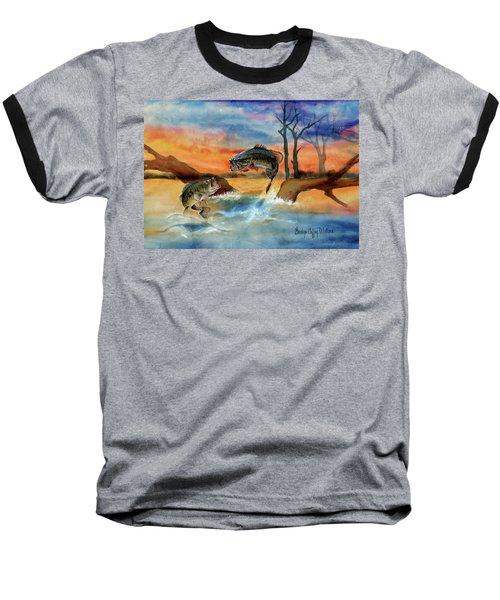 Double Jump Detail Baseball T-Shirt