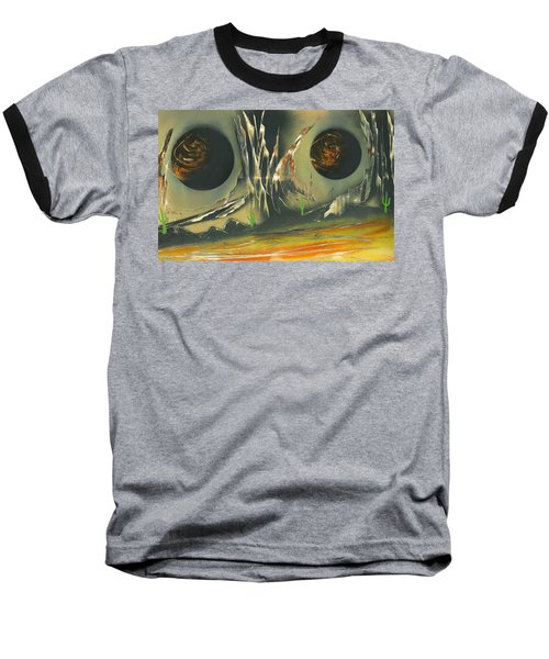 Double Moon Desert Baseball T-Shirt