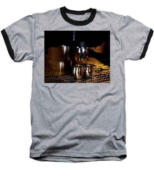 Double Shot Of Espresso 2 Baseball T-Shirt