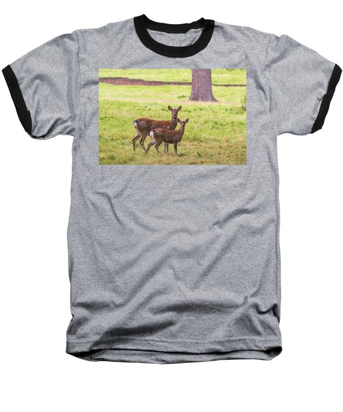 Baseball T-Shirt featuring the photograph Double Take by Scott Carruthers