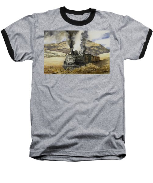 Double Teamin To Cumbres Pass Baseball T-Shirt