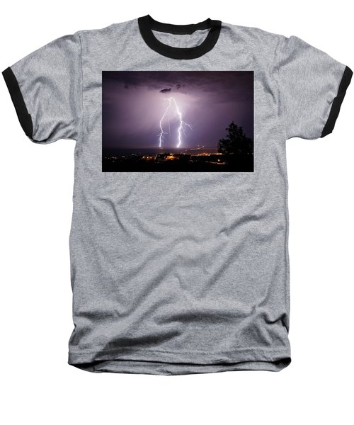 Baseball T-Shirt featuring the photograph Double Trouble by Ron Chilston