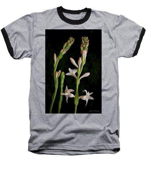Double Tuberose In Bloom #2 Baseball T-Shirt