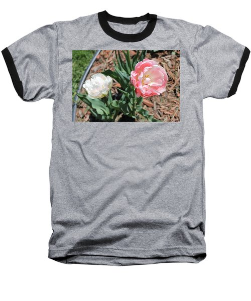 Double Tulip Baseball T-Shirt