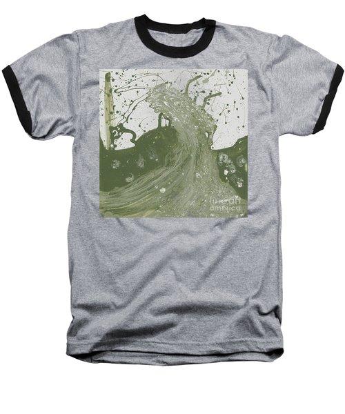 Double Up Wave Baseball T-Shirt