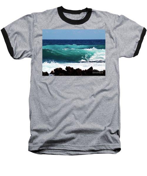 Double Waves Baseball T-Shirt