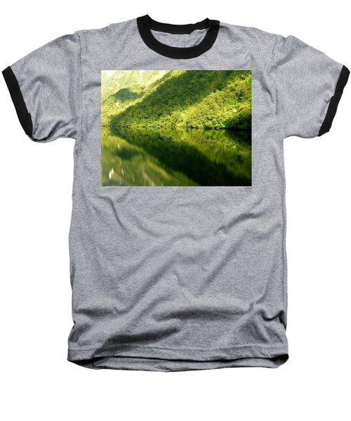 Doubtful Sound, New Zealand No. 4 Baseball T-Shirt