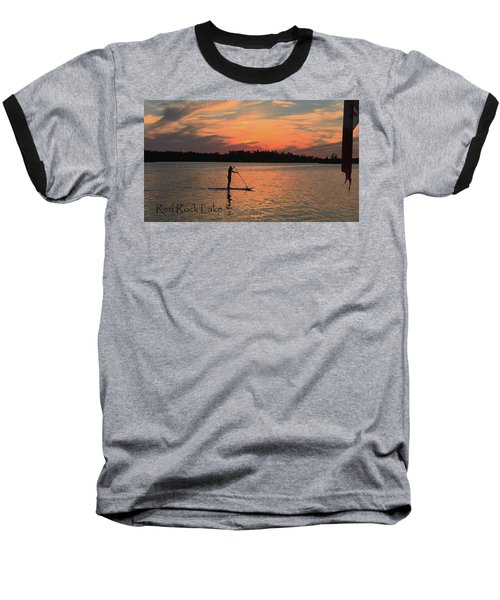 Doug Hobson, Red Rock Lake Baseball T-Shirt by Tom Janca
