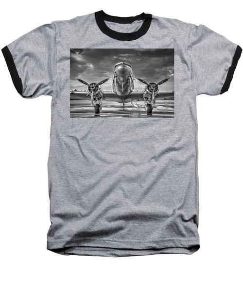 Douglas Dc3 Baseball T-Shirt