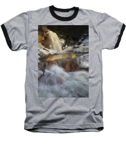 Douglas Falls Flow Baseball T-Shirt