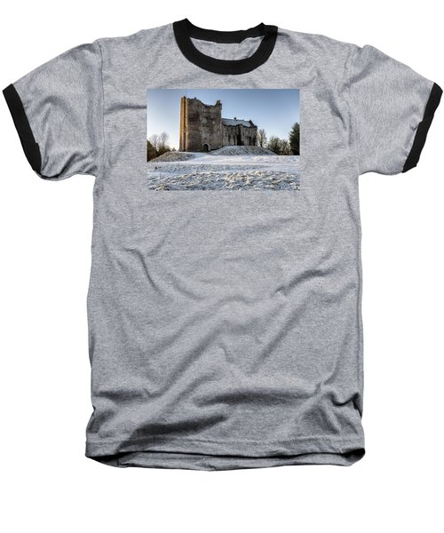 Doune Castle In Central Scotland Baseball T-Shirt by Jeremy Lavender Photography