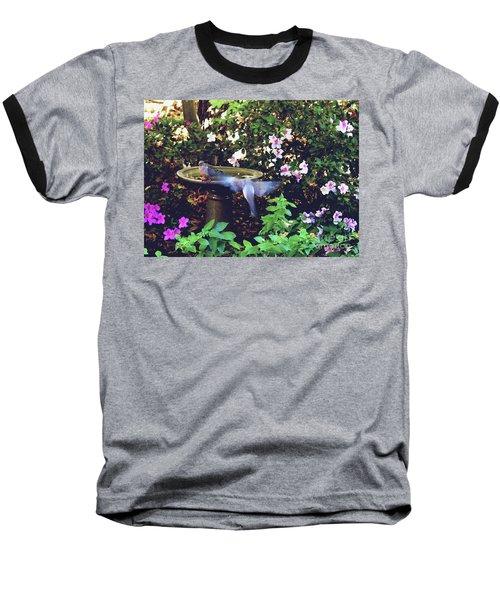 Dove In Flight Baseball T-Shirt
