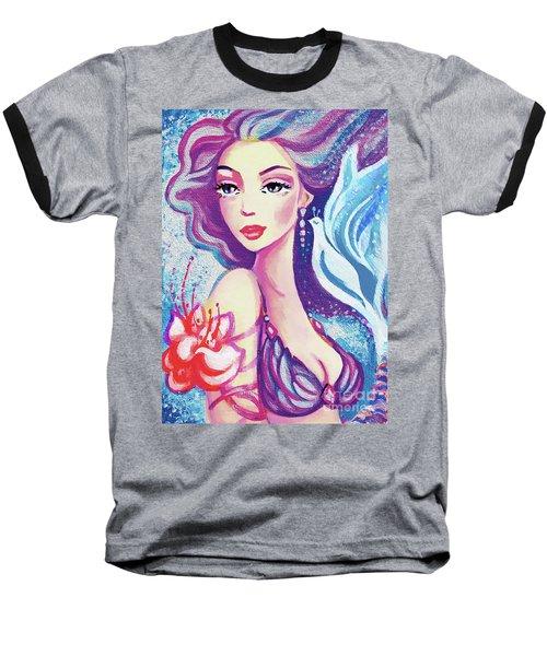 Dove Mermaid Baseball T-Shirt