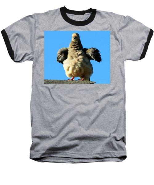 Dove On Steroids I Baseball T-Shirt