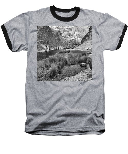 Dovedale, Peak District Uk Baseball T-Shirt by John Edwards