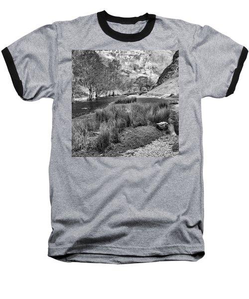 Dovedale, Peak District Uk Baseball T-Shirt
