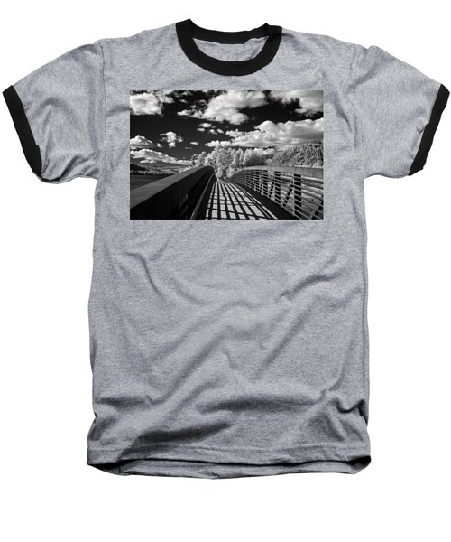 Dover Slough Bridge 1 Baseball T-Shirt