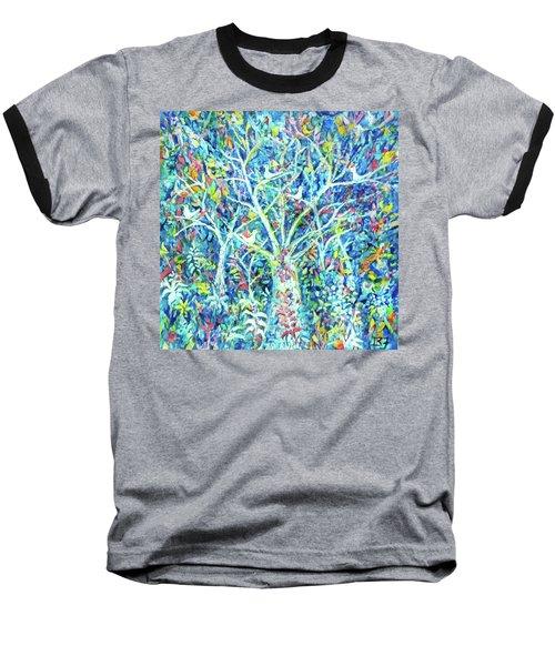 Doves In Trees Baseball T-Shirt
