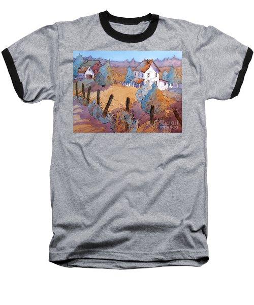 Down A Country Road Baseball T-Shirt