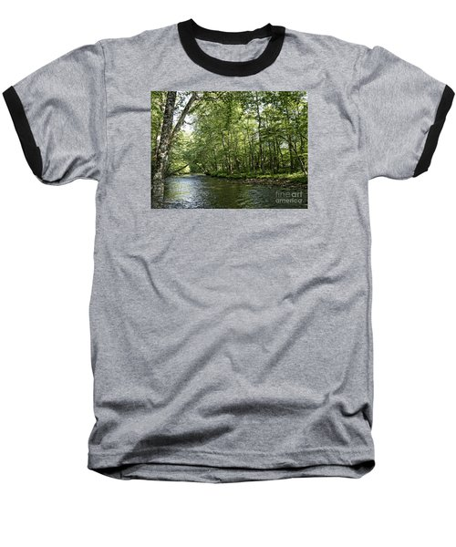 Down Beside Where The Waters Flow Baseball T-Shirt