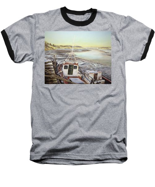 Down By The Docks Baseball T-Shirt by Marty Garland