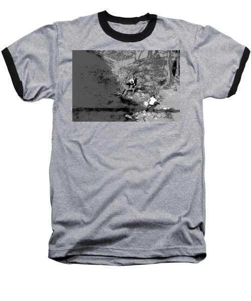 Down By The Old Mill Stream Baseball T-Shirt