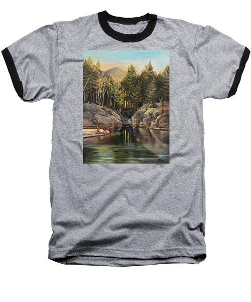 Down By The Pemigewasset River Baseball T-Shirt
